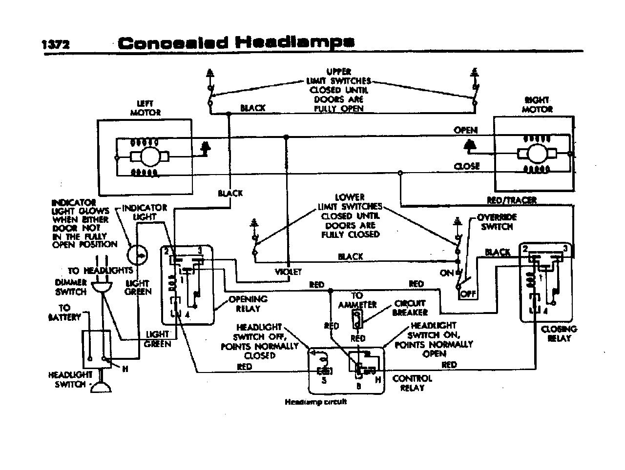 1966 Charger Headlight Relay Diagram : 36 Wiring Diagram