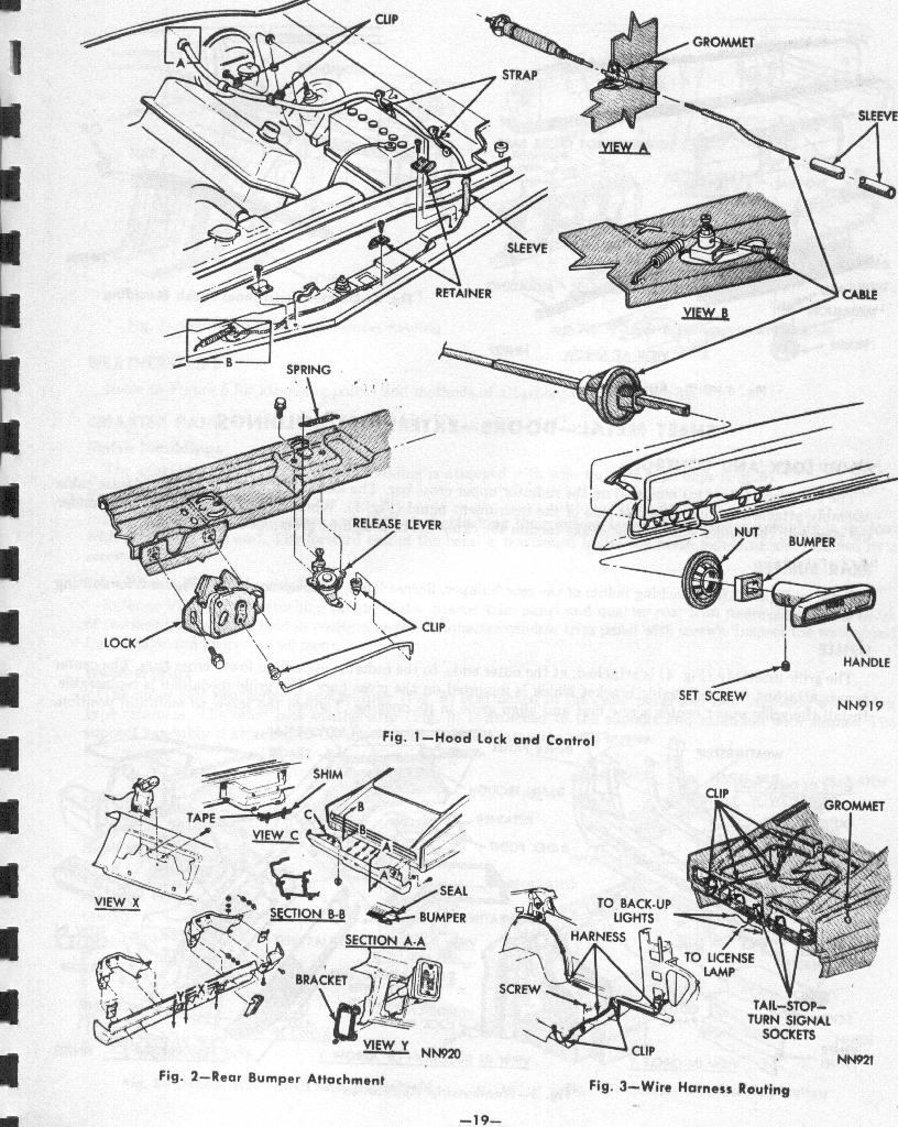 1966 Dodge Charger Supplement Pages