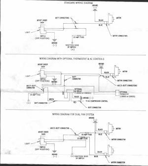 Hayden electric fan wiring diagram