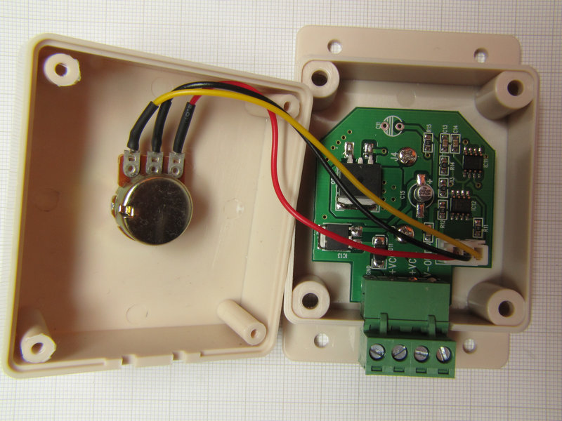 Hobby Circuit Pot Controlled Variable Led Intensity Circuits
