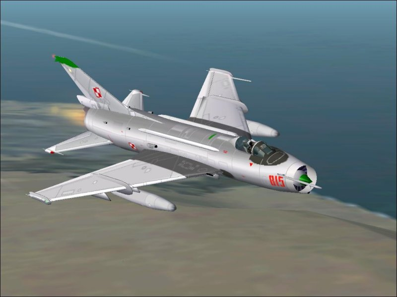 Sukhoi SU-7 'Fitter-A' for FS2004