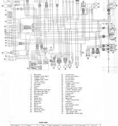 motorcycles yamaha xj maxim wiring diagram data wiring diagram yamaha maxim 750 wiring diagram [ 1921 x 2442 Pixel ]