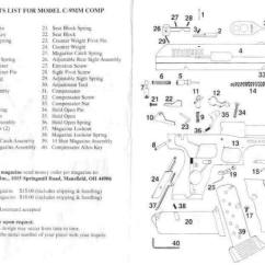 Kel Tec P11 Parts Diagram 1993 Toyota Corolla Fuse Box Hi Point 9mm Schematic | Get Free Image About Wiring