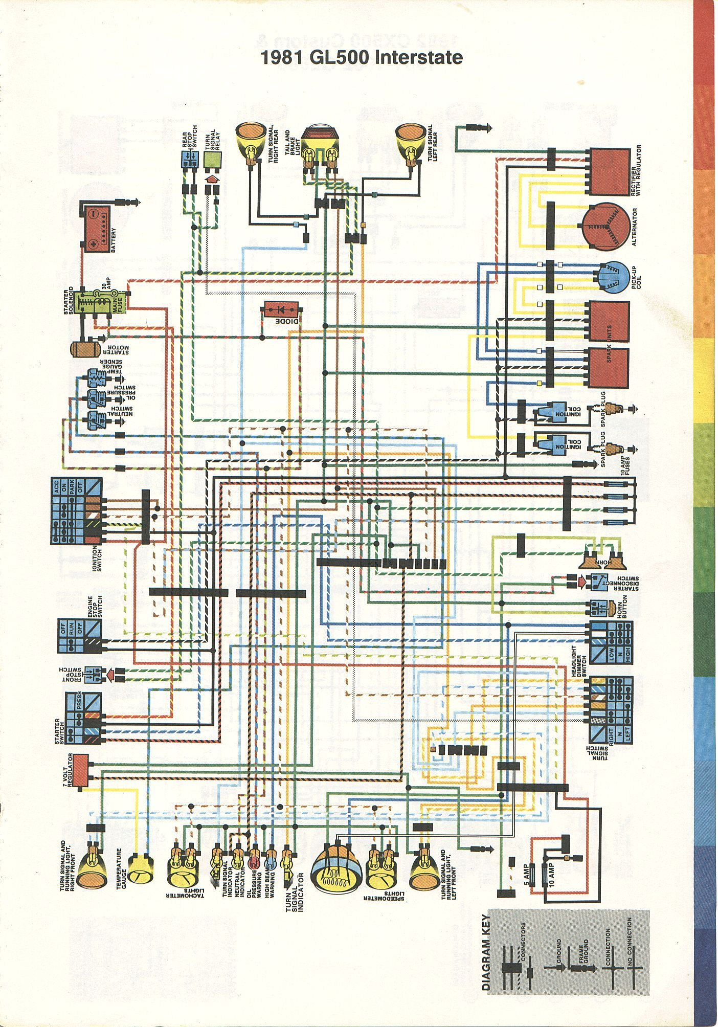 hight resolution of  81 honda gl500 interstate wiring diagram