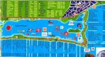 Cancun Mexico Tourist Map