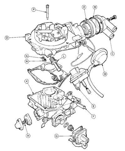Weber 28/30 DFTH carburetor