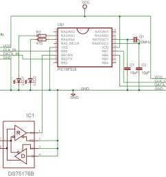 dmx pc keyboard interface computer keyboard circuit diagram computer keyboard wiring diagram [ 1878 x 1366 Pixel ]