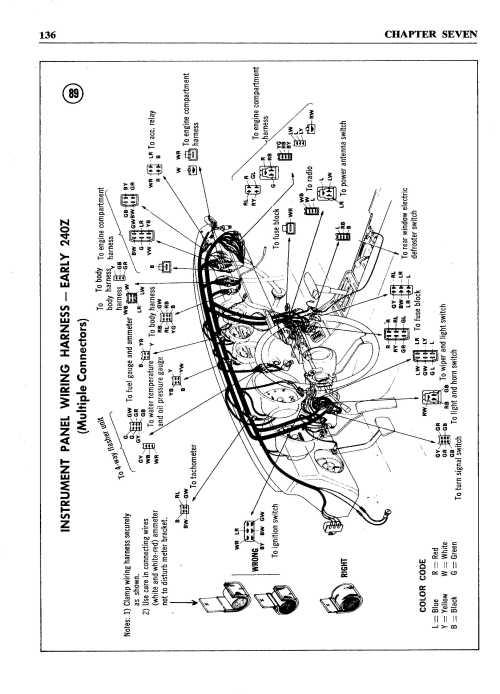small resolution of 240z wiring harness wiring diagrams for wiring diagram for 1978 280z 280z wiring diagram