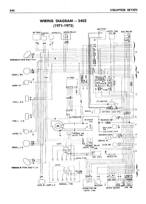 small resolution of 1979 nissan 280zx heater wiring diagram nissan 240sx 240sx wiring diagram 300zx wiring diagram