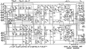 Quad ESL63 electrostatic speaker service diagnose repair schematic manual
