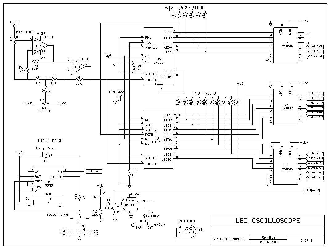 Led Oscilloscope