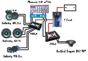 Lightning audio 1 farad capacitor – Industrial electronic