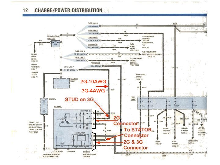 Motorcraft 3g Alternator Wiring Diagram : Smart car alternator wiring diagram efcaviation
