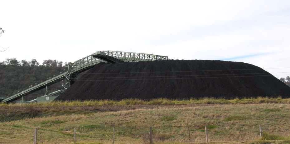 Pile Angle Repose Coal