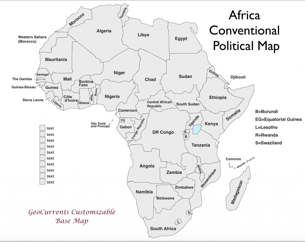 North Africa Worksheet