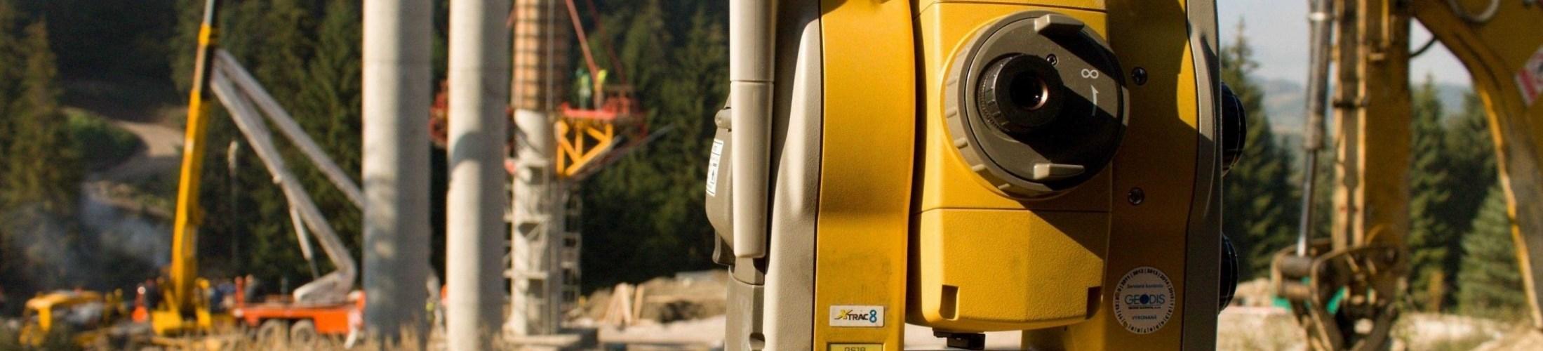 Prístrojové vybavenie- Geodet v.o.s. Martin-geodetické práce, geodetické služby