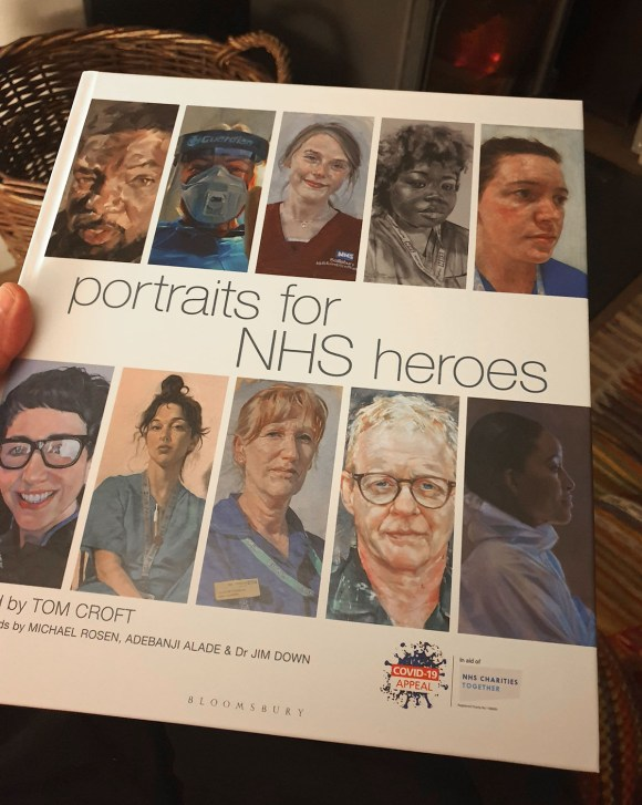 Portraits for NSH Heroes book