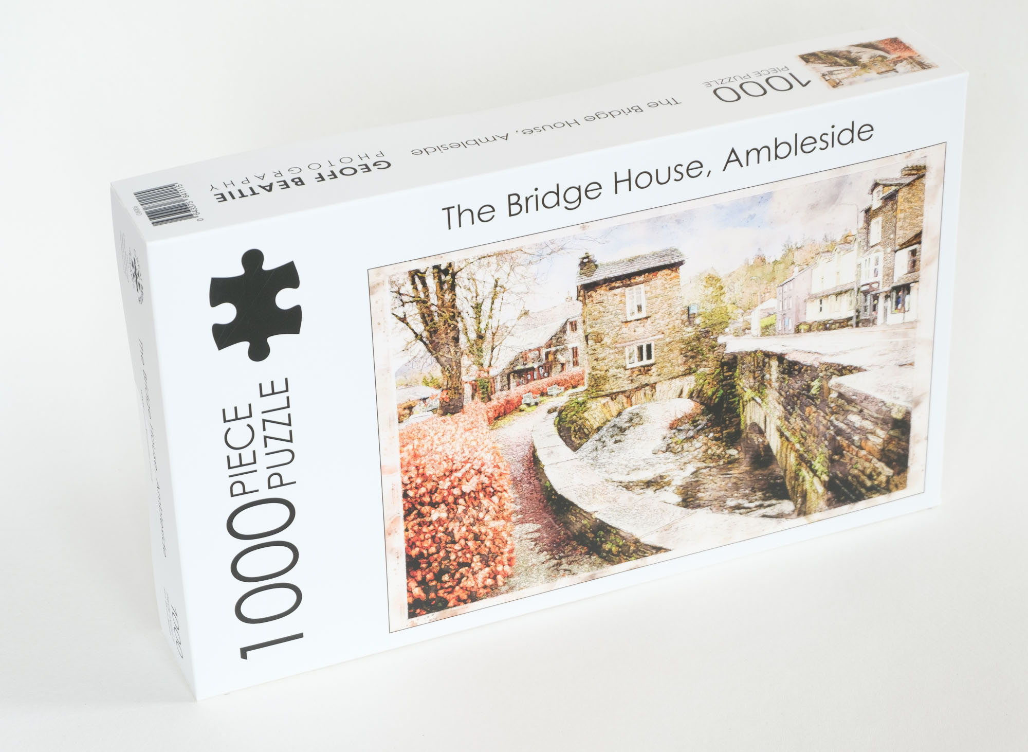 Ambleside the bridge house jigsaw Lake district Cumbria