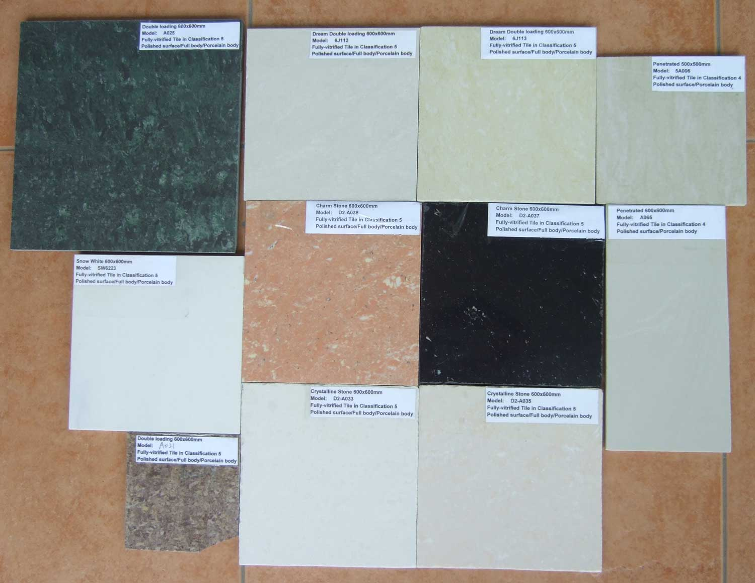 China ceramic tiles export information