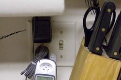 Dishwasher electrical switch