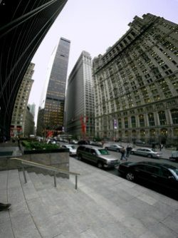 Financial District NYC panorama