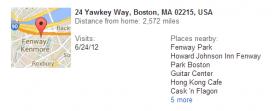 Google Location history 2