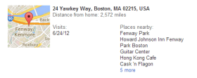 Google Location history 2
