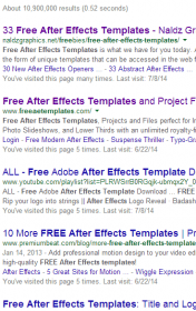 free after effects templates   Google Search