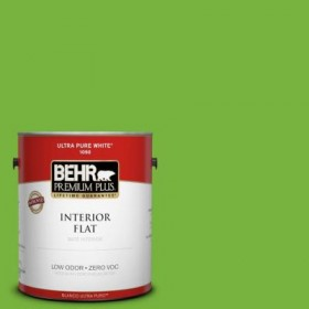behr sparkling apple green for chroma key