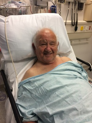 dad in the hospital