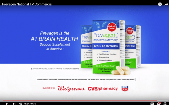 Prevagen National TV Commercial   YouTube