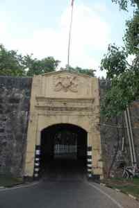 Fredericks Fort Entrance