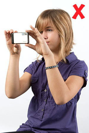 Image result for how to hold a camera