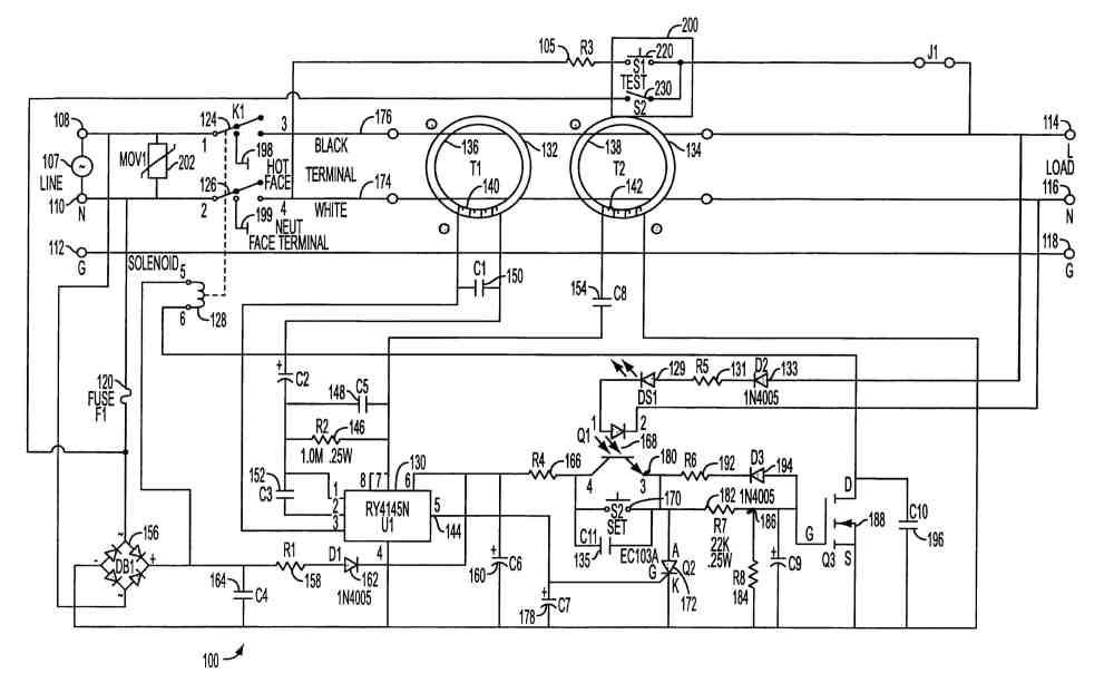 medium resolution of ground fault circuit interruptor diagram