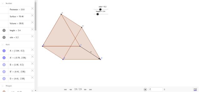 Equilateral Triangular Prism – GeoGebra