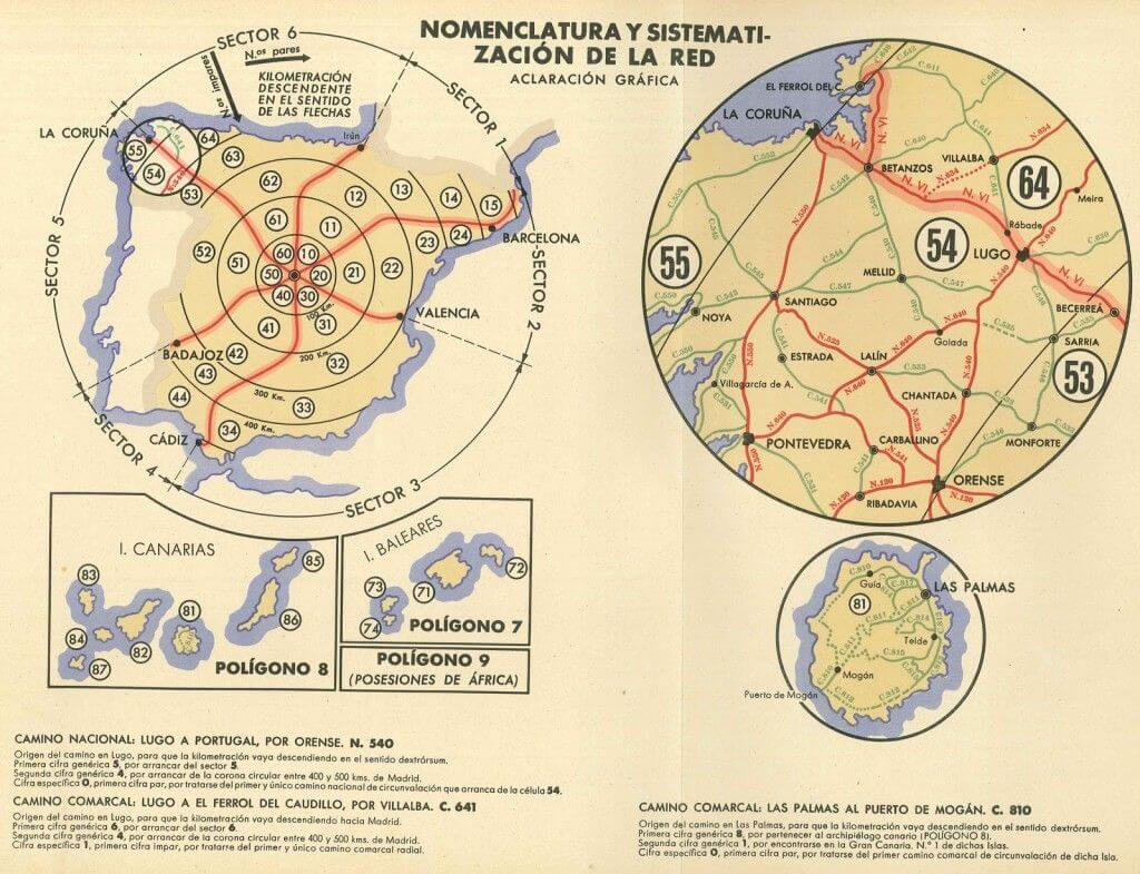 Gráfica de la sistematización carreteras