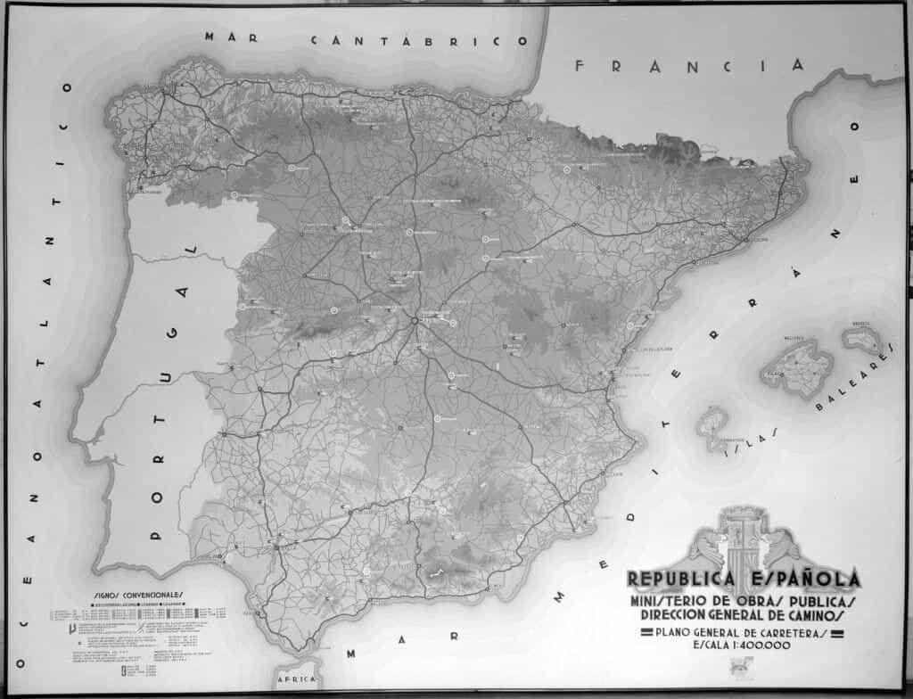 Plano General de las carreteras de España en la II República