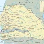 Map Of Senegal Dakar Travel Africa