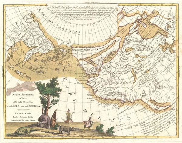 Nuove Scoperte DeRussi al Nord del Mare del Sud si nell