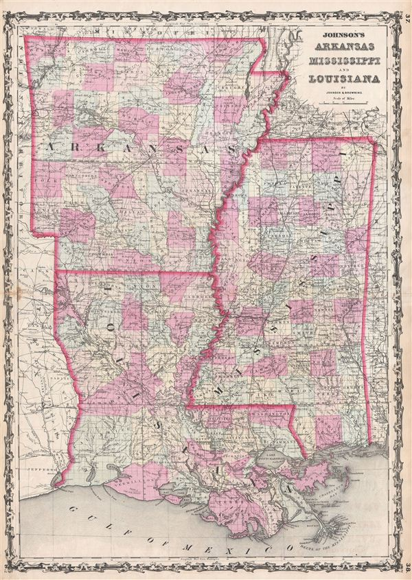 Johnsons Arkansas Mississippi and Louisiana
