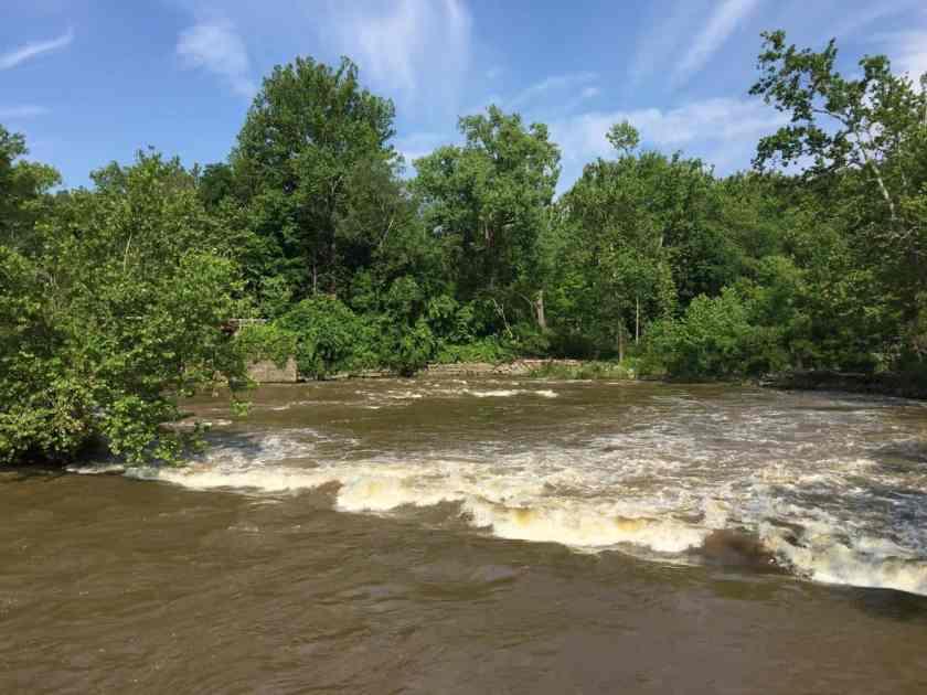 The Cuyahoga River in Ohio. Photo: Alex Demas, USGS. Public domain.