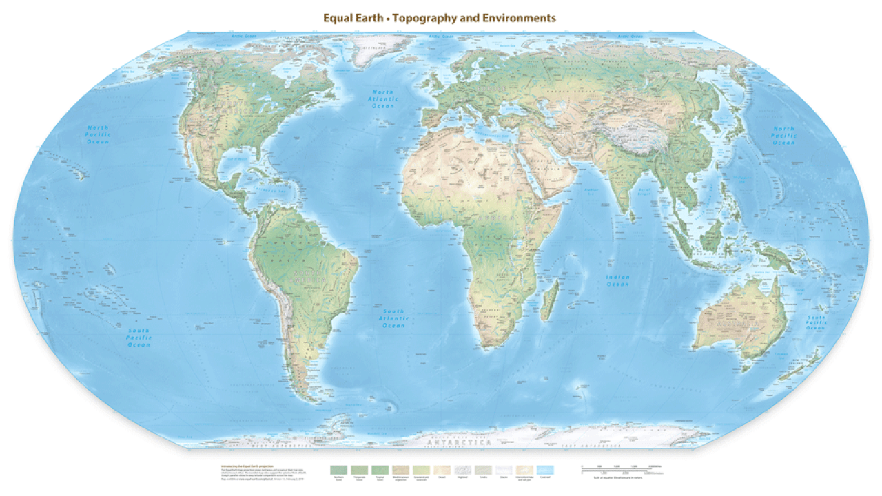 Teorija zavjere - Let na Mjesec - Page 5 Equal-Earth-Physical-Map-Raster