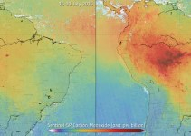 Using Satellites to Map Air Pollution from Wildfires