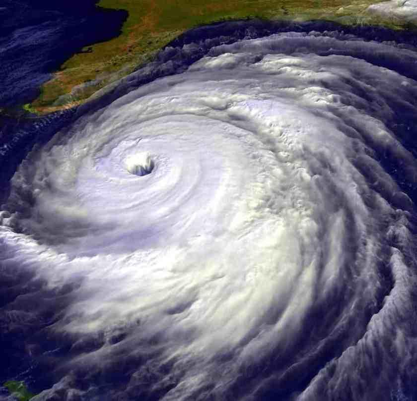 Visualization of Hurricane Floyd, NASA, public domain