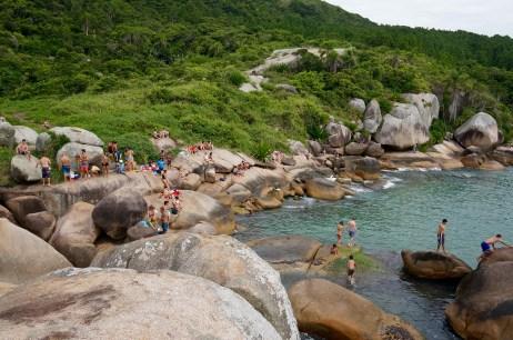 Chillin' on the Piscinas Naturais boulders