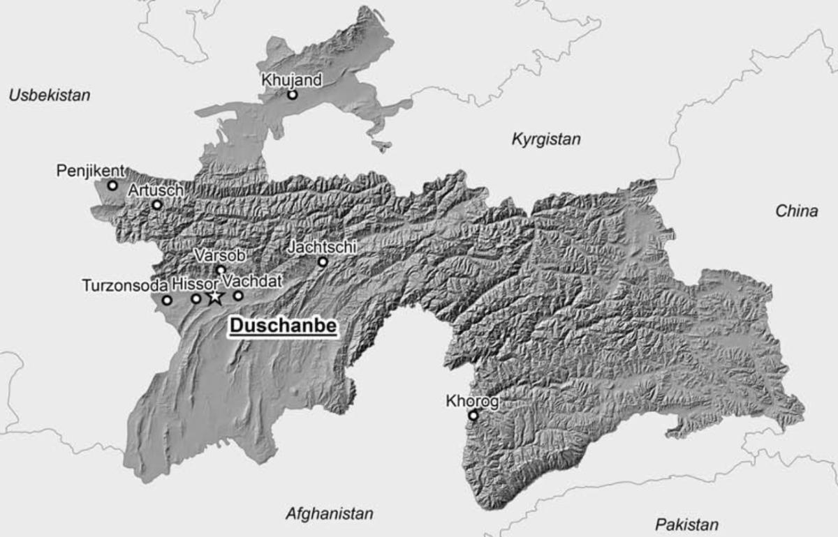 Vortrag: Geoinformatik in Tadschikistan