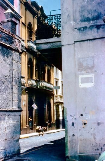 Calle del Cristo esq. Calle Tetuán (1954)