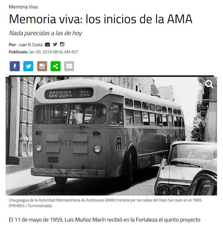 NotiCel - Memoria viva: los inicios de la AMA