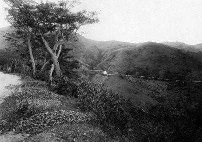 Carretera Central - tramo Caguas a Cayey (c. 1900)