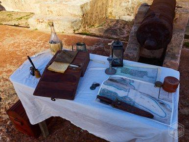 Escritorio de campo utilizado en combate.